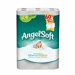 Angel Soft Bath Tissue, Regular Rolls- 24 pack