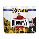 Brawny Paper Towels, Big Rolls, Pick-A-Size, White