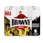 Brawny Paper Towels, Big Rolls, White
