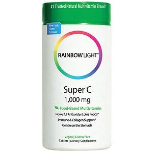 Rainbow Light Super Vitamin C 1,000mg, Tablets- 60 ea