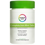 Rainbow Light Complete Iron Mini-Tabs, Tablets