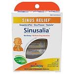 Boiron Sinusalia Sinus Relief Pellets Homeopathic Medicine- 2 ea