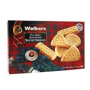 Walkers Shortbread Pure Butter Assorted Shortbread- 8.8 oz