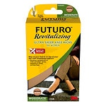 FUTURO Revitalizing Ultra Sheer Knee Highs for Women, Model 71061EN, Nude, Large