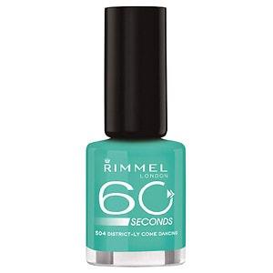 Rimmel 60 Seconds Nail, Mintilicious- .27 fl oz