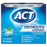 ACT Total Care Dry Mouth Lozenges, Mint