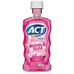 ACT Kids Anti-Cavity Fluoride Rinse, Bubblegum Blowout