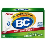 BC Arthritis Formula, Pain Reliever Powders