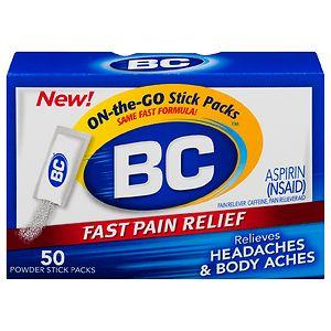 BC Headache, Body Aches, Fever Powder- 50 ea