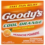 Goody's Headache Powders, Orange- 24 ea