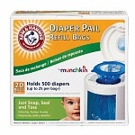 Arm & Hammer by Munchkin Diaper Pail Refill Bags