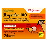 Walgreens Ibuprofen Children's Chewable Orange Tablets