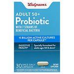Walgreens Mature Adult Probiotic- 30 ea