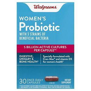 Walgreens Women's Probiotic, 30 ea