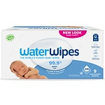 WaterWipes Baby Wipes Value Pack, 9 Pack- 60 ea
