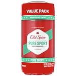 Old Spice High Endurance Deodorant Twin Pack, Pure Sport Scent