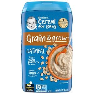 Gerber Oatmeal Cereal Single Grain- 16 oz