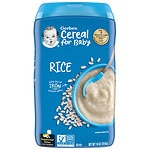 Gerber Rice Cereal Single Grain