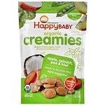Happy Baby Organic Creamies, Apple, Spinach, Pea & Kiwi- 1 oz