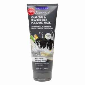 Freeman Feeling Beautiful Facial Polishing Mask, Charcoal & Black Sugar