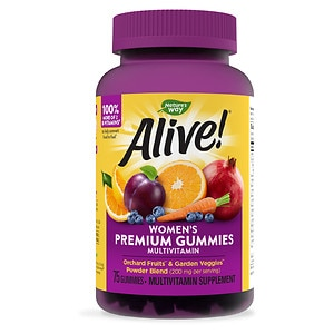 Nature's Way Alive! Women's Gummy Multivitamin- 75 ea