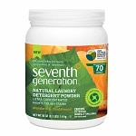 Seventh Generation Powder Laundry, Mandarin & Sandalwood- 50 oz