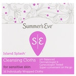 Summer's Eve Cleansing Cloth for Sensitive Skin, Island Splash