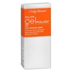Sally Hansen Salon Gel Polish  Nail Cleanser Pads, Gel Cleanser- 20 pads