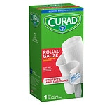 Curad Pro-Sorb Rolled Gauze Sterile Roll, White, 4 in x 2.5 yds