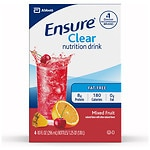 Ensure Active Clear Nutrition Protein Drink, Mixed Fruit, 4 pk- 10 oz