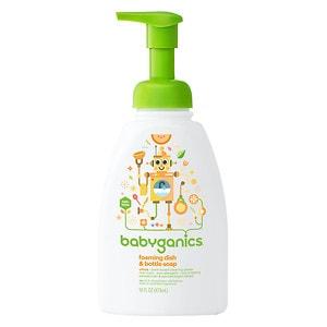 Babyganics Foaming Dish & Bottle Soap, Citrus