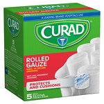 Curad Pro-Sorb Rolled Gauze Sterile Rolls, White, 3 in x 2.5 yds (76 mm x 2.2 m)- 5 ea