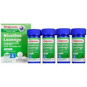 Walgreens Nicotine Lozenge, 2 mg, Mint, 108 ea