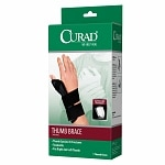 Curad Thumb Brace Universal Hand and Size, Universal, Black- 1 ea