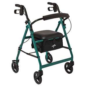 Medline Basic Rollator, Green