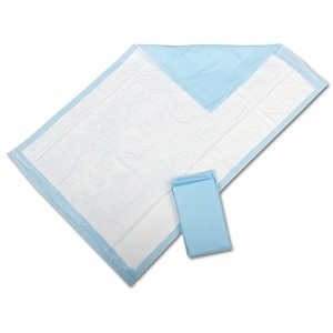 Medline Protection Plus Disposable Underpads, 23x24in, White- 200 ea
