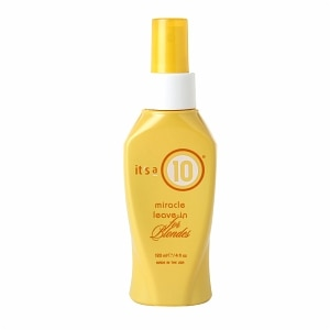 it's a 10 miracle leave-in for blondes- 4 OZ