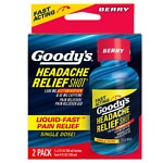 Goody's Headache Relief Shot, Berry- 2 ea