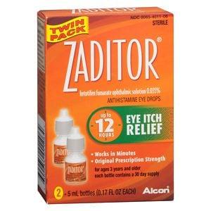 Zaditor Antihistamine Eye Drops- .34 fl oz