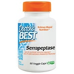 Doctor's Best Serrapeptase 40,000, Veggie Capsules
