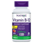 Natrol Vitamin B-12 5000mcg Fast Dissolve Tablets,, Strawberry