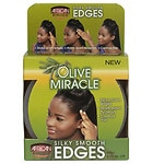 African Pride Olive Miracle Silky Smooth Edges- 3 oz