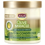 African Pride Olive Miracle Leave in Conditioner- 15 oz