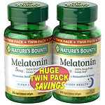 Nature's Bounty Melatonin 5mg Dietary Supplement, Softgels, 2 pk- 60 ea