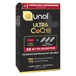 Qunol 100% Natural Ultra CoQ10 100mg, Softgels- 120 ea