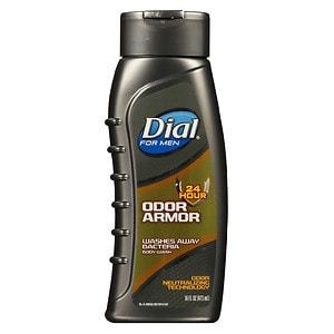 Dial for Men Antibacterial Body Wash, 24 Hour Odor Armor | drugstore.com
