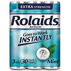 Rolaids Extra Strength Tablets, Mint