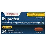 Walgreens Ibuprofen Pain Reliever/Fever Reducer Caplets