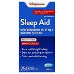 Walgreens Nighttime Sleep Aid Mini-Caplets
