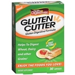 Healthy Natural Systems Healthy Digestives Gluten Cutter Capsules- 30 ea